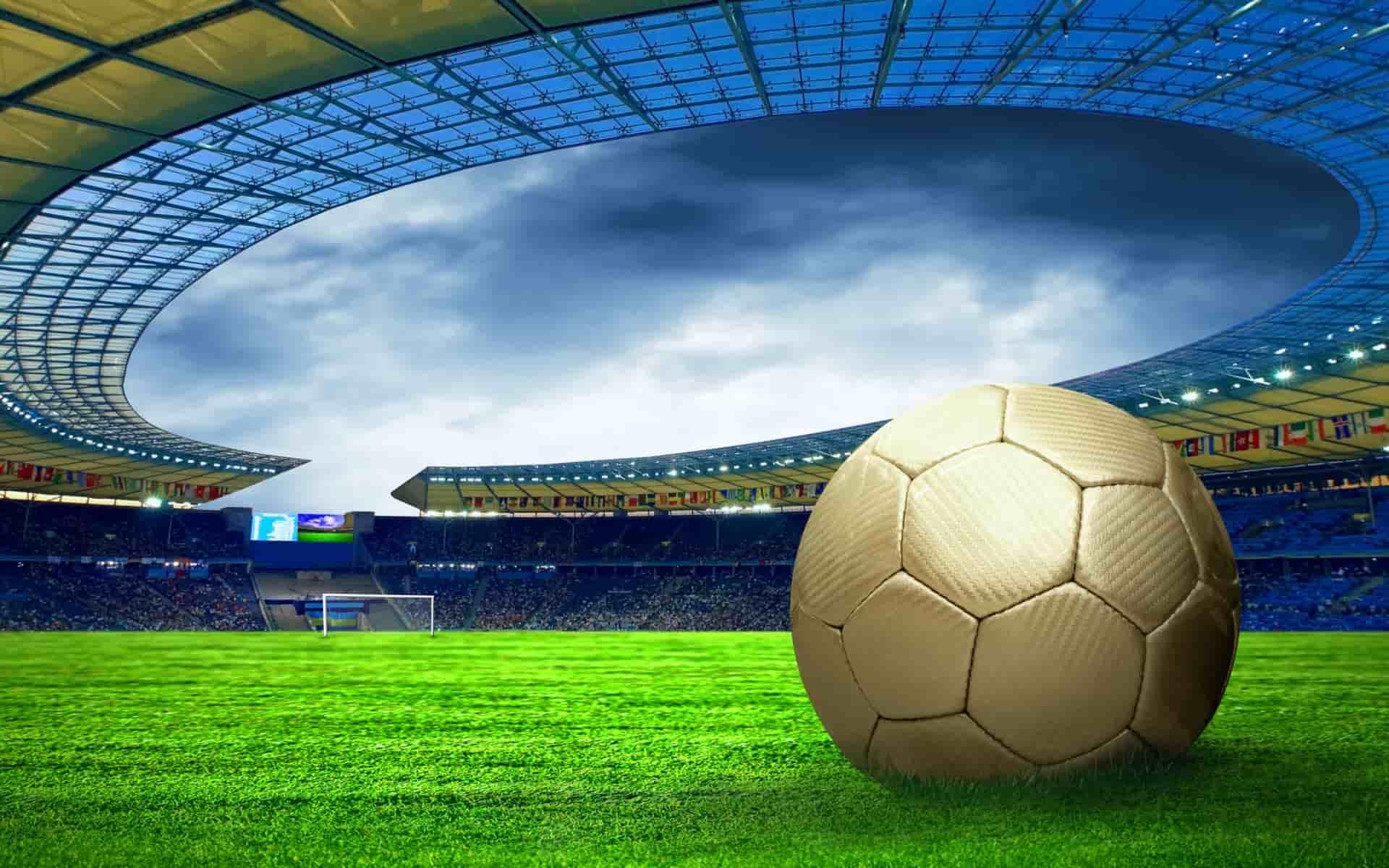 Soccer Field HD desktop wallpaper  High Definition