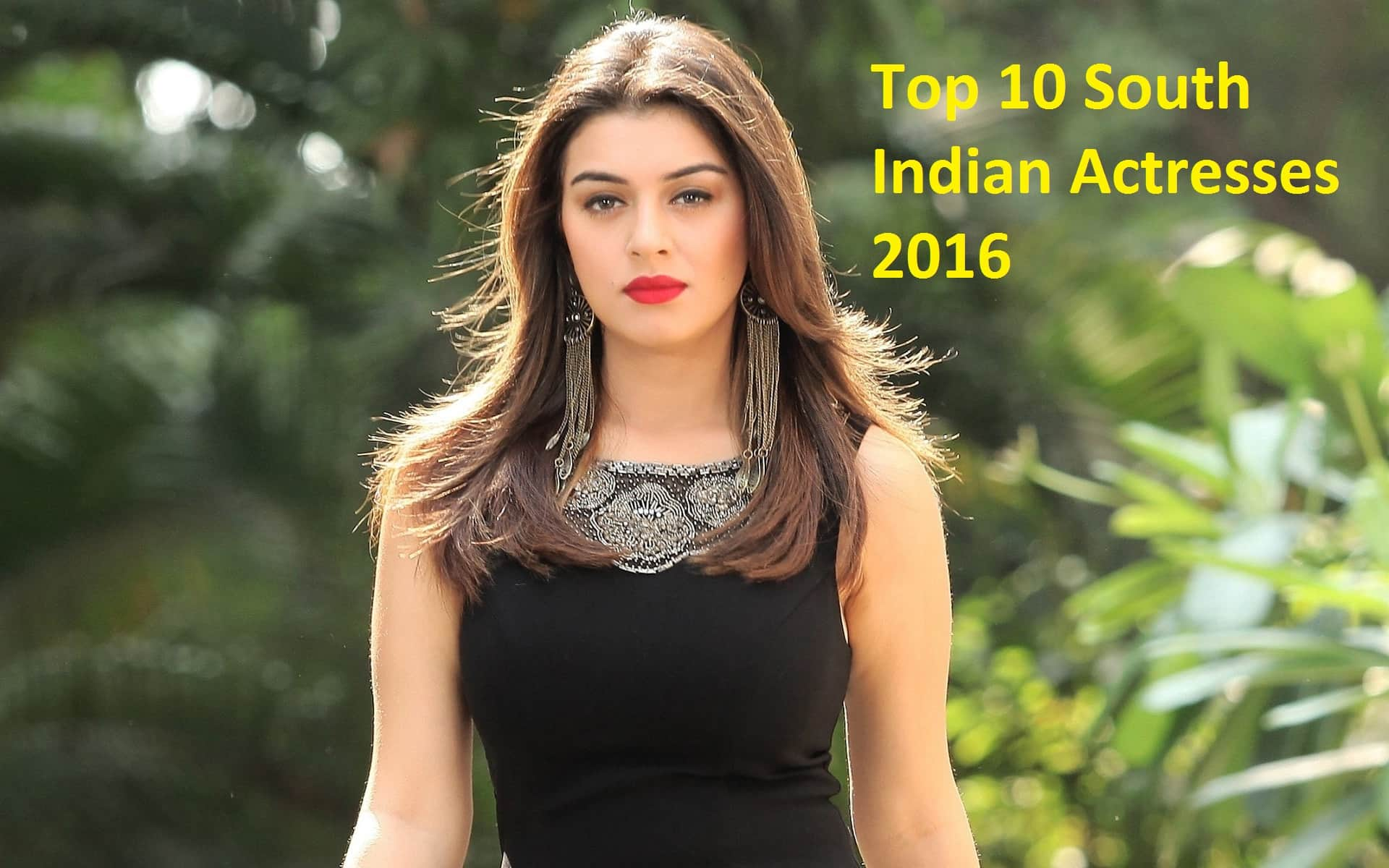 top 10 south indian actresses 2016 - plusmind.in